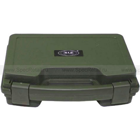 Пластиковый кейс для оружия, 26х20.5х8.3 см (Olive)