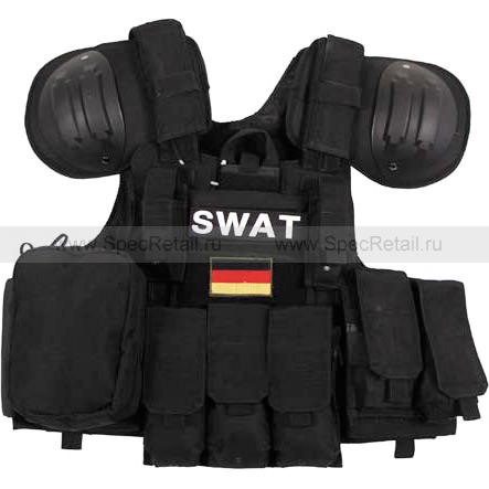 """Модульный жилет SWAT """"Combat"""" (Black)"""