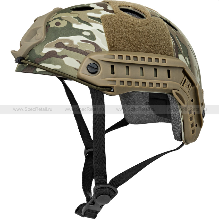 Шлем Fast Carbon PJ Style (реплика) (Multicam)