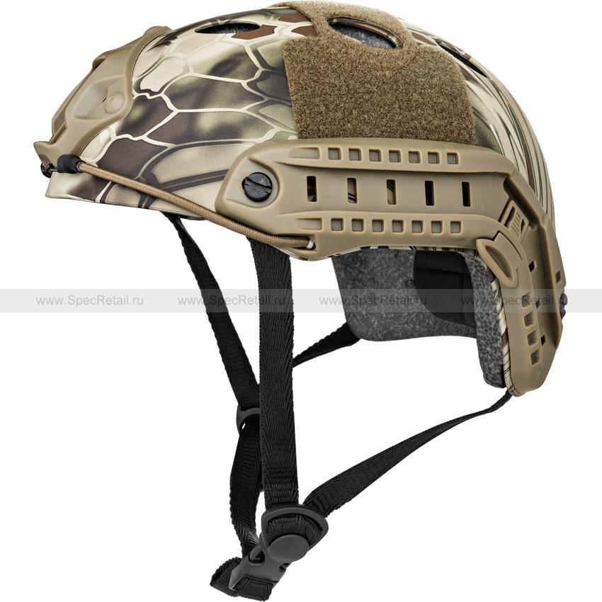Шлем Fast Carbon PJ Style (реплика) (Kryptek Highlander)