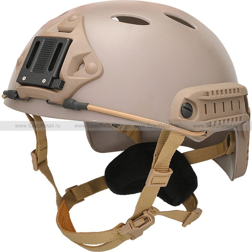 Шлем Fast Carbon PJ Style (реплика) (Dark Earth)
