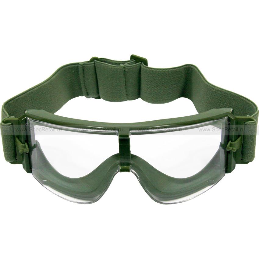 Очки (Daisy) Tactical X800 (3 сменные линзы) (Olive)