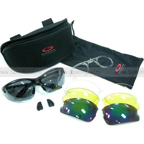Очки (Guarder) C3 (4 сменные линзы)