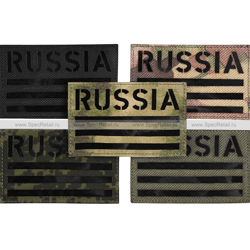 "Шеврон Call Sign Patch ""Russia"", ИК, 8x5 см"