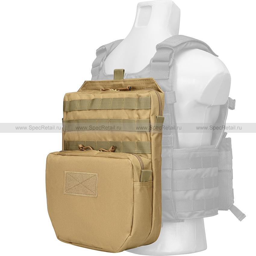 Рюкзак MOLLE на разгрузочный жилет (Tan)