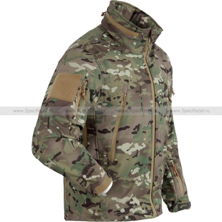 Куртка SoftShell (АНА) (Multicam)