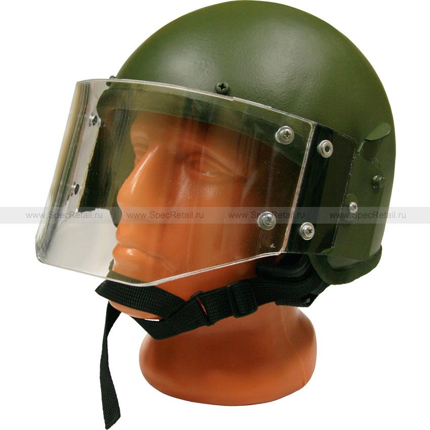 Шлем ЗШ-1-2М с забралом (Gear Craft) (реплика) (Olive)