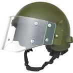 Шлем ЗШ-1-2МР с визором, радиофицированный  (Gear Craft) (реплика) (Olive)