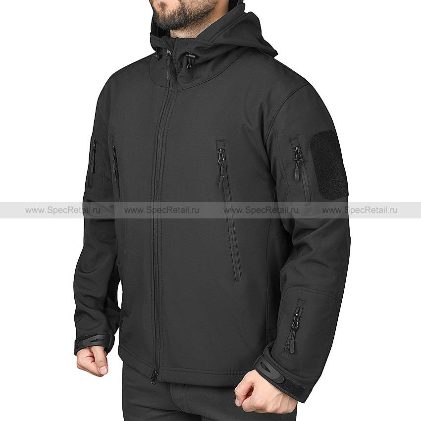 "Куртка ""Shark Skin V"", Softshell (Black)"