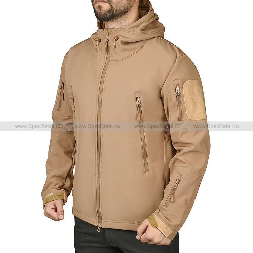 "Куртка ""Shark Skin V"", Softshell (Coyote Brown)"