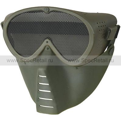 """Защитная маска """"Face Guard"""" (Olive)"""