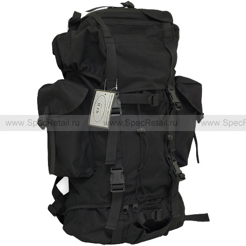 """Военный рюкзак """"BW Combat"""" 65 литров (Black)"""