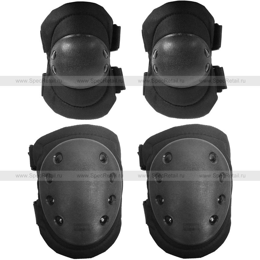 Наколенники и налокотники Army Tactical (Black)