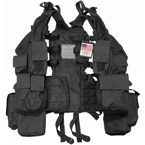 Тактический жилет RSA (12 подсумков) (Black)