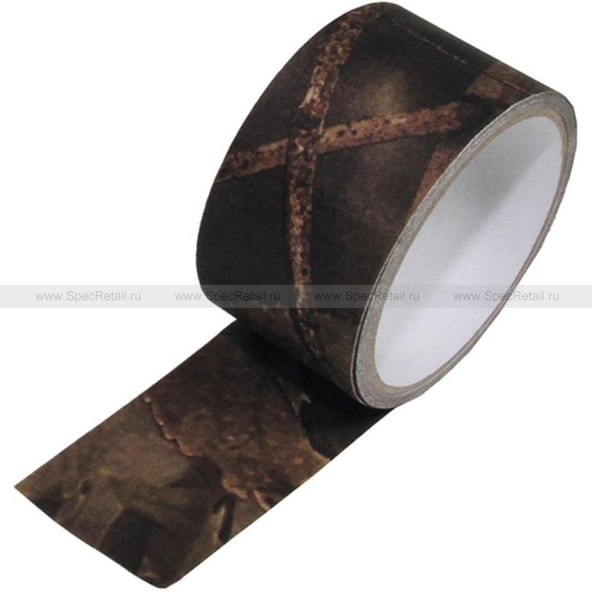 Камуфляжная лента (скотч), 5см х 5м (Hunter Brown)