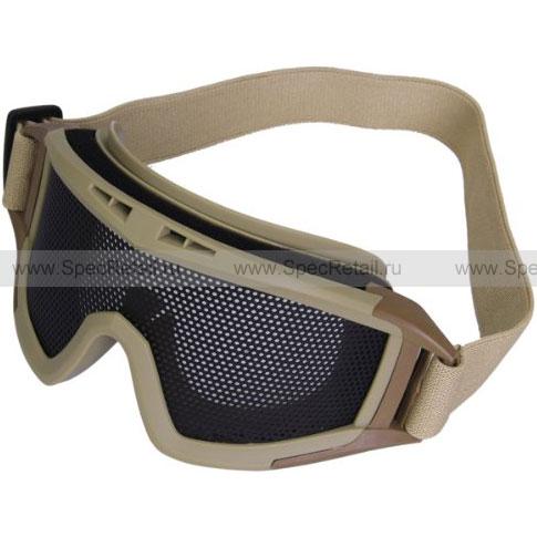 Сетчатые очки-маска Locust (Tan)