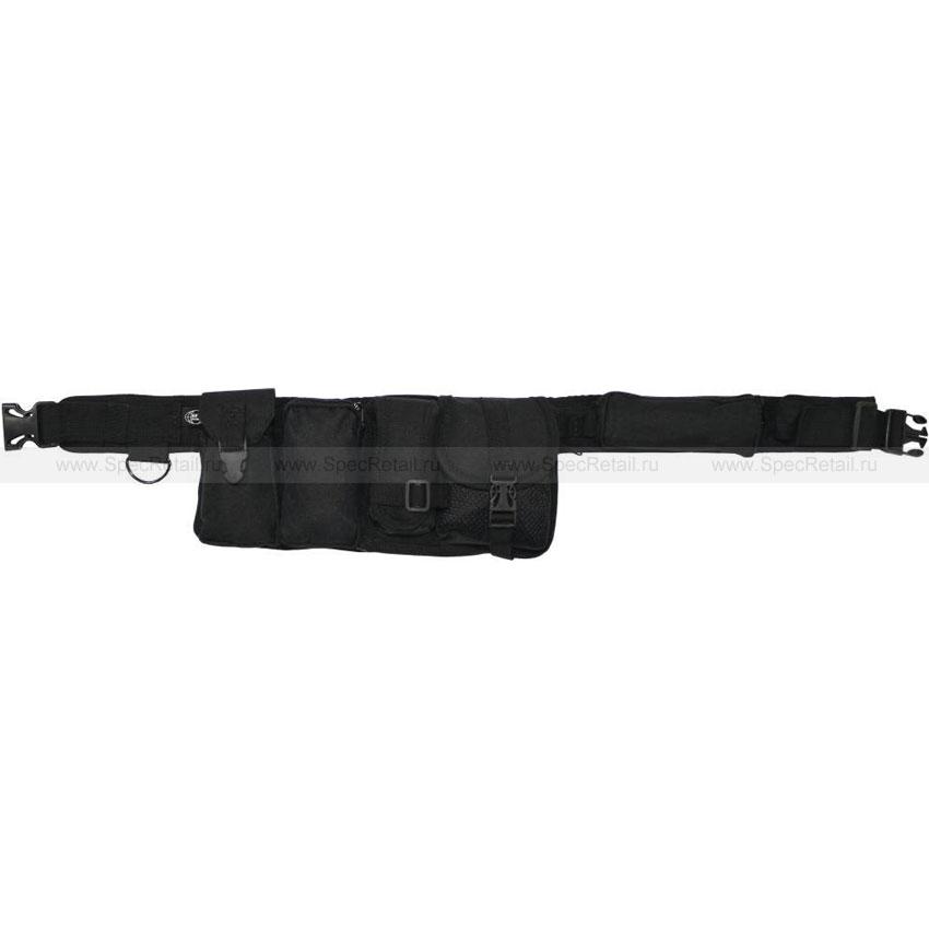 Ремень с 6-ю карманами MFH (Black)