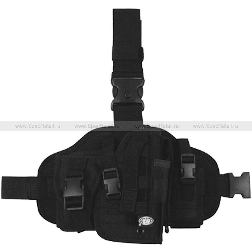 Тактическая набедренная кобура на платформе (Black)