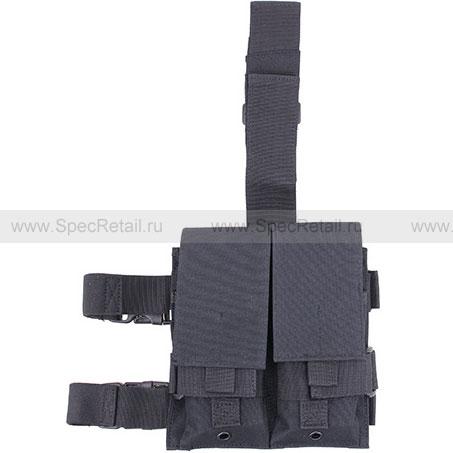 Платформа на бедро с подсумками для магазинов M4/M16 MFH (Black)