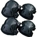 Наколенники и налокотники X-SWAT (Black)