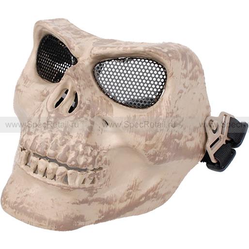 """Защитная маска """"Череп"""" (Brown)"""