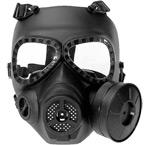 Защитная маска-противогаз с вентилятором M04 (Black)