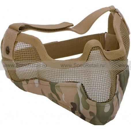 Стальная сетчатая маска (Multicam)