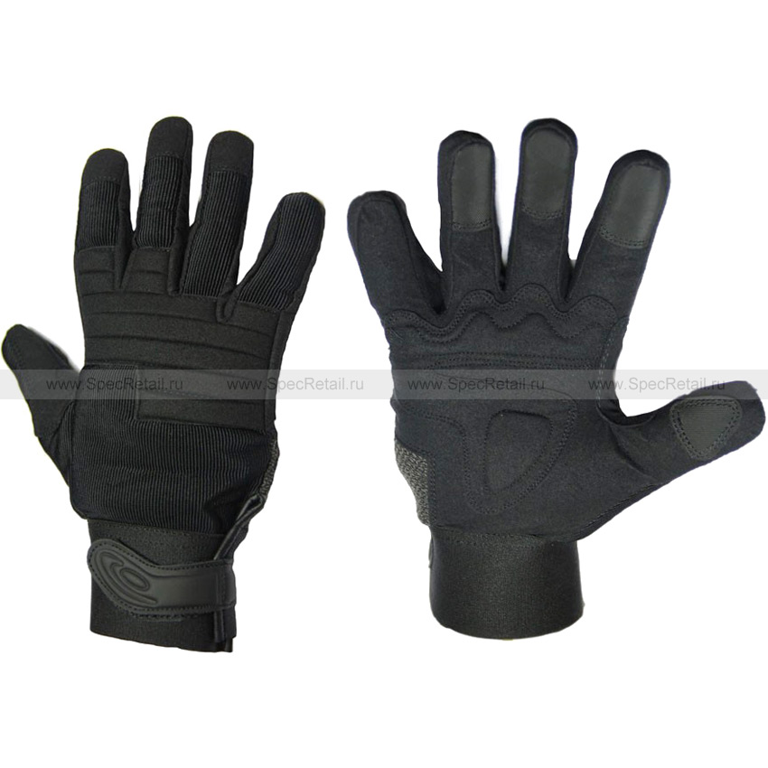 Перчатки (Hard Gear) Mechanic's (Black, Medium)