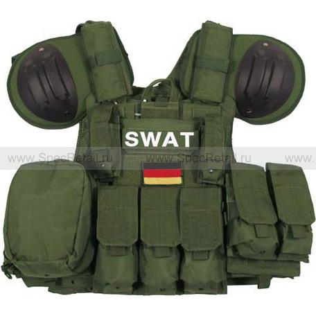 """Модульный жилет SWAT """"Combat"""" (Olive)"""