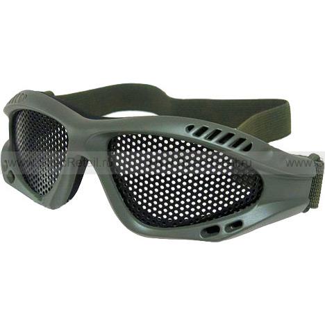 Сетчатые очки Metal Mesh (Olive)
