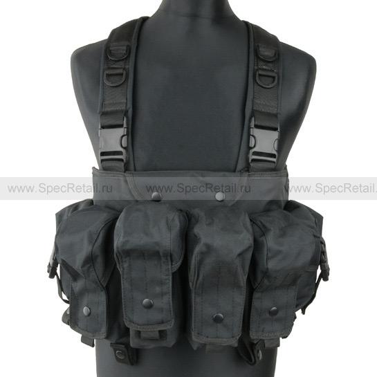 """Разгрузочный жилет АК """"Commando"""" (Black)"""