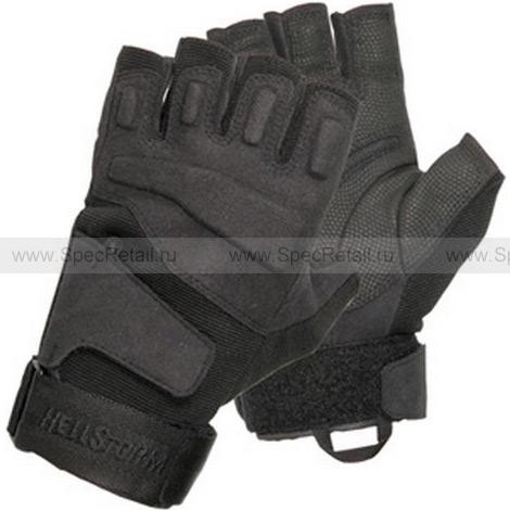 Перчатки (Blackhawk) SOLAG, беспалые (Black), реплика