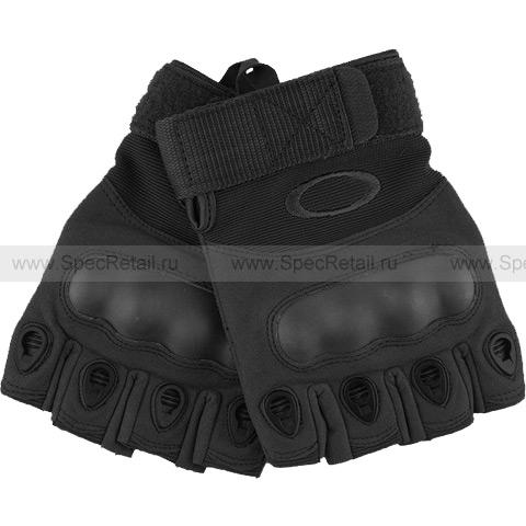 Перчатки Tactical Gloves, беспалые (Black)