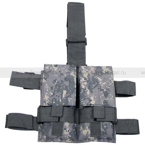 Платформа на бедро с подсумками для магазинов M4/M16 MFH (ACU)