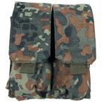 Подсумок для магазинов M4/M16, двойной (Flecktarn)