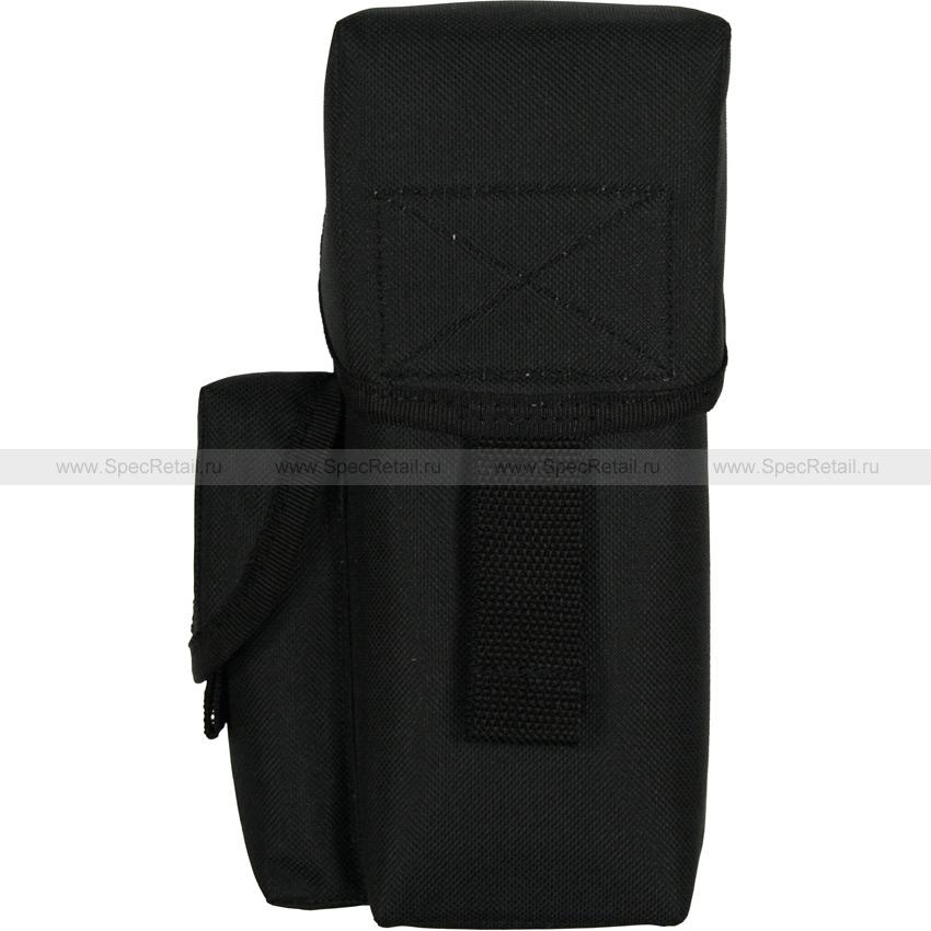 Подсумок для магазинов АК одинарный (на 3 магазина) (Black)