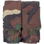 Подсумок для магазинов M4/M16, двойной (Woodland)