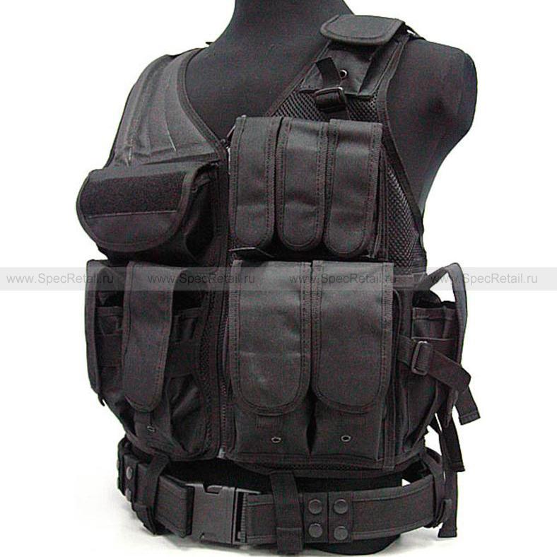 Тактический боевой жилет (Black)