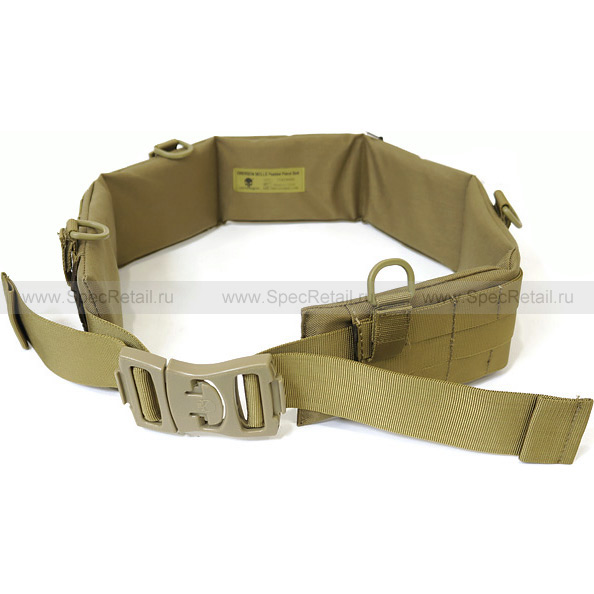 Тактический пояс EMERSON MOLLE Padded Patrol Belt (Tan)