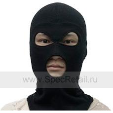 Балаклава Guarder, 3 отверстия (Black)