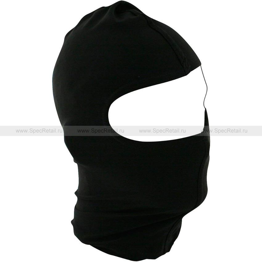 Балаклава Zan Headgear, 1 отверстие (Black)