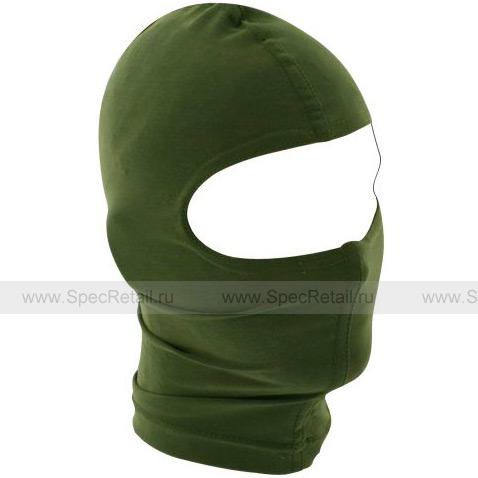 Балаклава Zan Headgear, 1 отверстие (Olive)