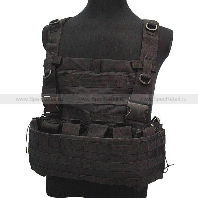 Разгрузочный жилет Combat Carrier (Black)