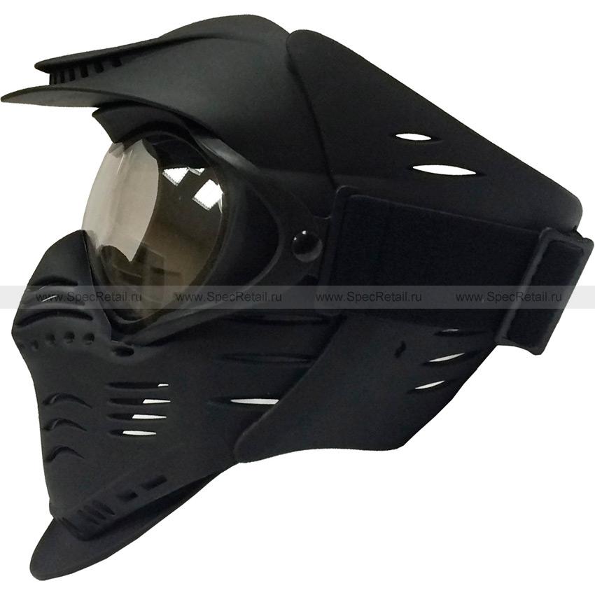 "Защитная маска для страйкбола-пейнтбола ""Luke"" (Black)"