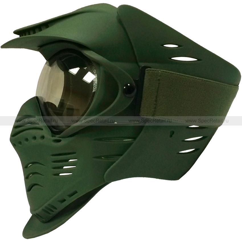"Защитная маска для страйкбола-пейнтбола ""Luke"" (Olive)"