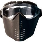 Тактические очки-маска с вентилятором Battleaxe (Black)