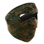 Неопреновая маска Zan Headgear (Digital Woodland)