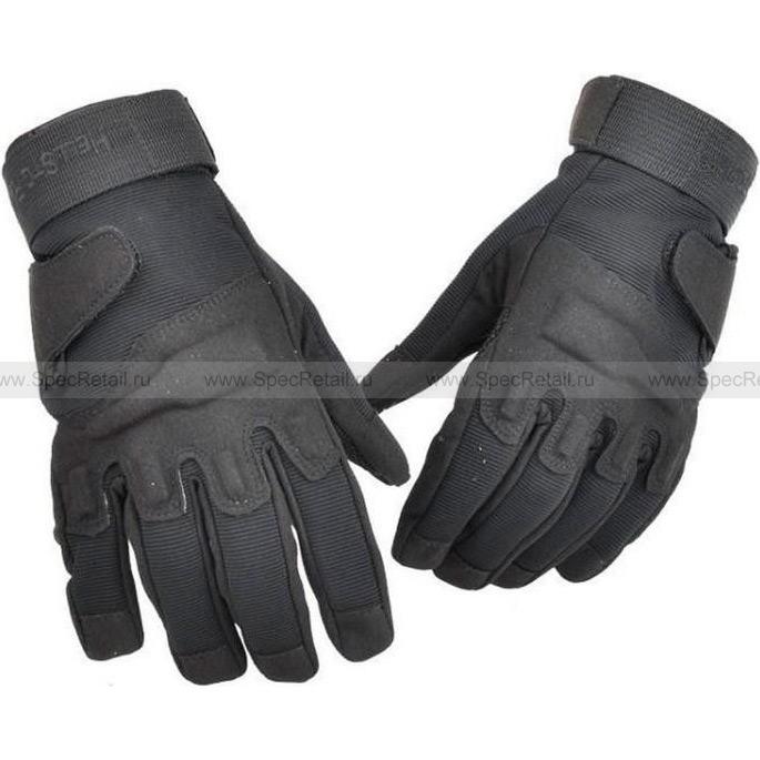 Перчатки Blackhawk, с пальцами (Black), реплика