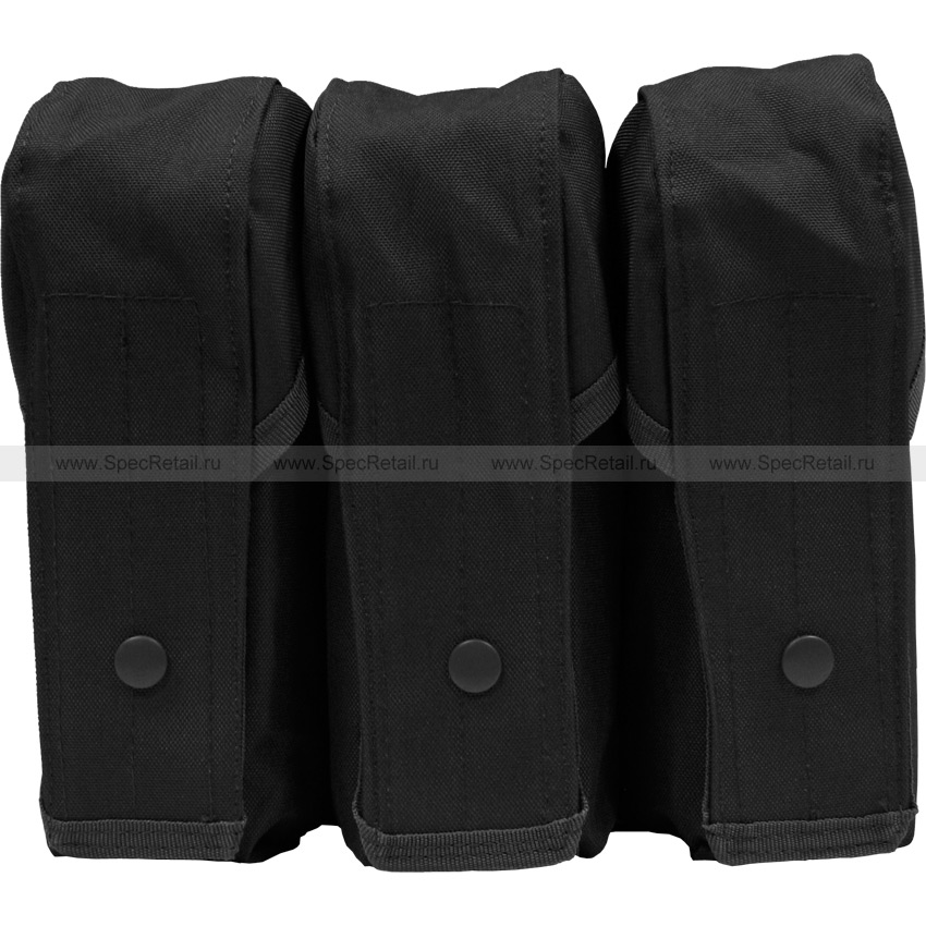 Подсумок для АК тройной (до 9 магазинов АК) (Black)
