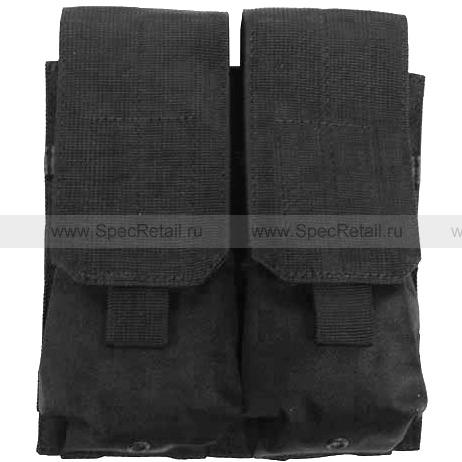 Подсумок для магазинов M4/M16, двойной (Black)